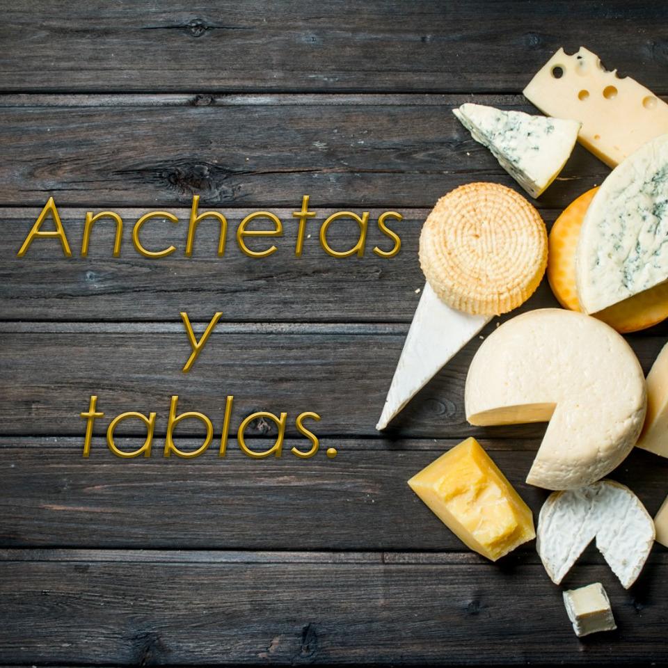 ANCHETAS Y TABLAS